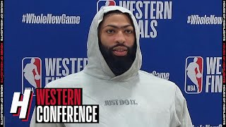Anthony Davis Postgame Interview - Game 2 | Nuggets vs Lakers | September 20, 2020 NBA Playoffs