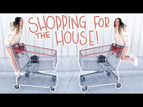 moving vlog #4 | shopping for the new house + haul!