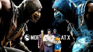 Birkaç Kötü Adam Mortal Kombat XL Oynuyor