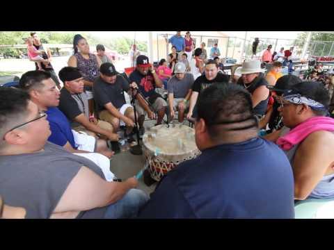 Saturday Afternoon Drum Roll Call 2016 Prairie Band Potawatomi Powwow