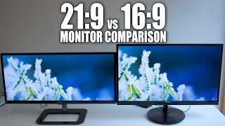 "LG Ultrawide 29"" 21:9 vs Philips 27"" 16:9 1080p Display Comparison 29UB65-P"