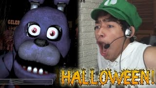 ESPECIAL DE HALLOWEEN - Five Nights At Freddy's | Fernanfloo