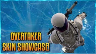 FORTNITE: OVERTAKER SKIN CINEMATIC SHOWCASE!
