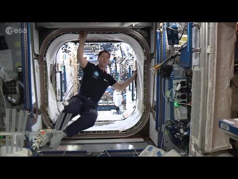 Full Space Station tour with Thomas (in French)
