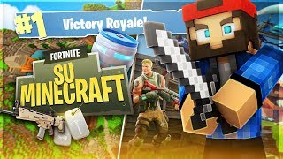 FORTNITE ON MINECRAFT... ED IS REAL VITTORY!