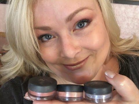 ASMR Makeup Tutorial - Full face using Bare Minerals!