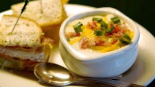 Bennigan's Ultimate Baked Potato Soup Secret Recipe - Discovered!