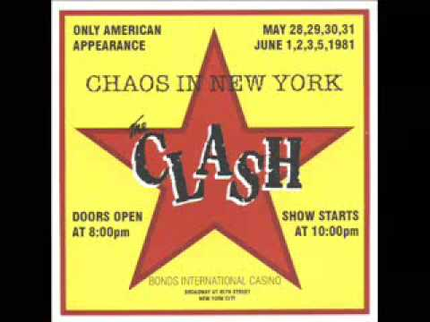 The Clash - Janie Jones - New York 1981...
