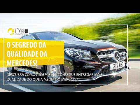 O Segredo da Qualidade da Mercedes!