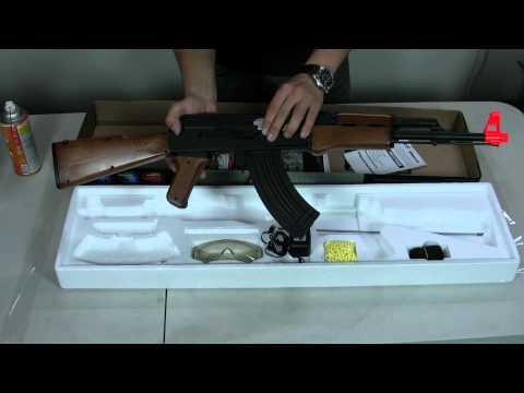 HitGuns.com - Airsoft Gun Guide - CM-022 AK47 Airsoft Gun Basics Tutorial