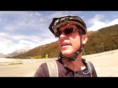 New Zealand Coast to Coast via Arthur's Pass by bike.