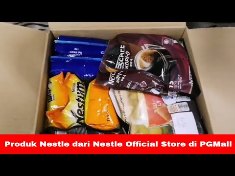 Video buka kotak Nestlé