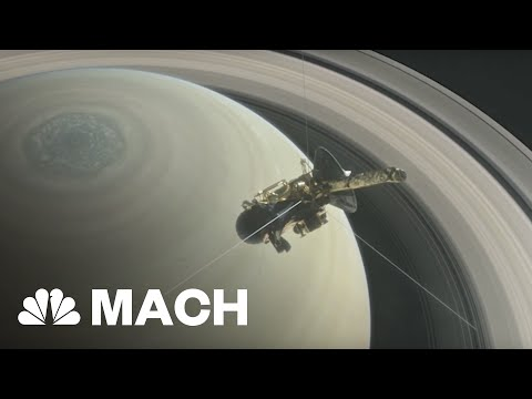 Cassini Will Crash Into Saturn After Its 'Grand Finale' Mission | Mach | NBC News
