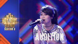 "Dilova Ayu Sanglatika ""CINTA TERBAIK"" I Singing Audition I The Next Boy/Girl Band S2 GTV"