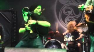 Eluveitie - Prologue + Helvetios @SYLAK OPEN AIR Le 11 Aout 2013