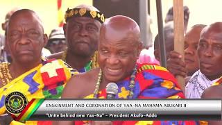 Enskinment & Coronation of Ya-Naa Mahama Abukari II