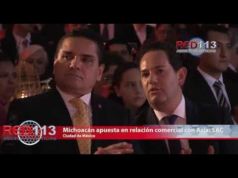 VIDEO Continuará Michoacán apuesta en relación comercial con Asia: Silvano Aureoles