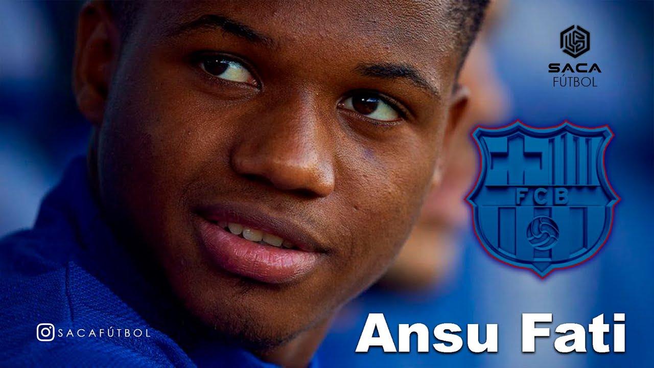 Ansu Fati, titular con el Barcelona por primera vez desde su grave ...