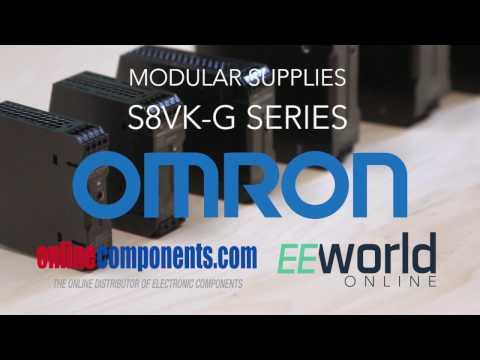 Omron S8VK-G series modular power supplies