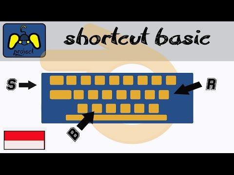 [tutorial blender gmae engine] Shortcut Basic / mengenal menu tombol (indonesia)