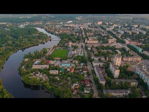 Новомосковск с высоты, май 2018