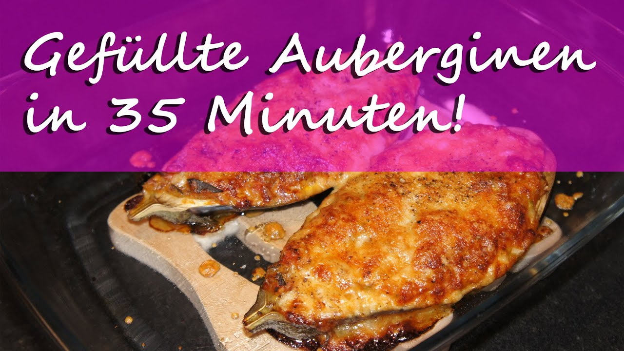 gef llte aubergine thermomix vegetarisch lecker youtube. Black Bedroom Furniture Sets. Home Design Ideas