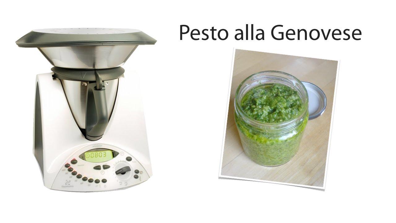 Ricetta Pesto Genovese Bimby.Pesto Alla Genovese Bimby Youtube