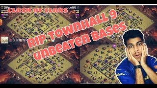 How To Get Perfect 3 Star In Any Townhall 9 War Bases? (COC)