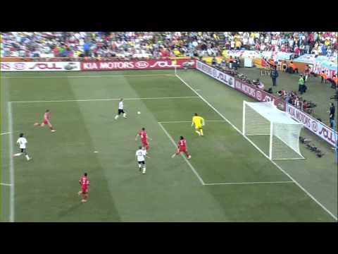 Podolski 2 0 Germany V England World Cup 2010