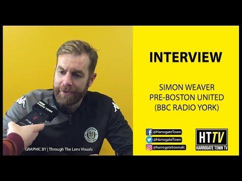 Simon Weaver BBC Radio York Pre Boston