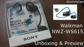 Sony Walkman NWZ-WS610(615) series (hands-on review)