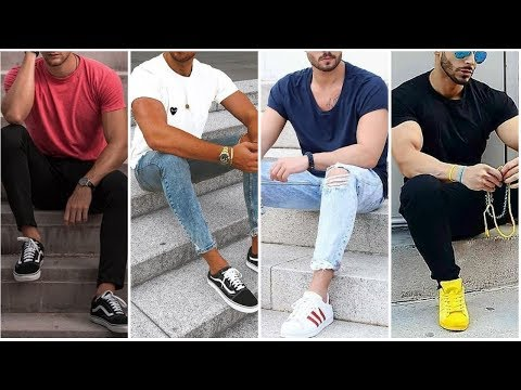 most-attractive-plain-t-shirt-outfits-for-men- -stylish-t-shirt-outfits- -men's-fashion-&-style-2020