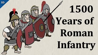 1500 years of Roman Infantry