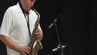 """Contact, for Alphonso Lingis,"" John Berndt Alto Saxophone solo , 2009"
