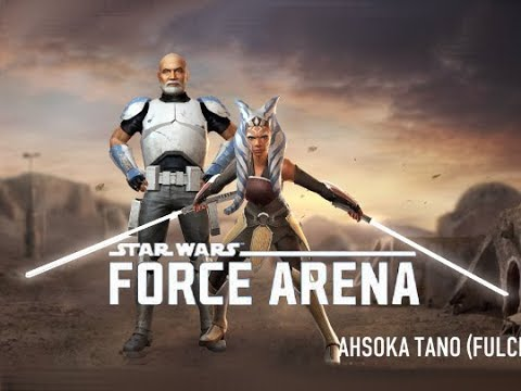Level 5 Ahsoka Tano (Fulcrum) with Captain Rex in Star Wars: Force Arena