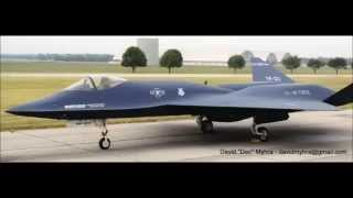 YF-23 - So Smooth & Stealthy Yet So Unwanted - The YB-23 Interim Bomber Version So Ignored, Too