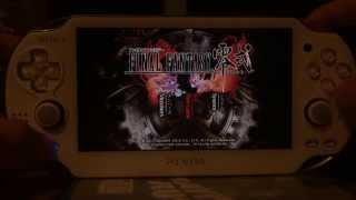Running Final Fantasy Type-0 on Playstation Vita
