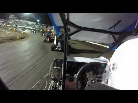Started 14th, finished 12th out of 19 cars. - dirt track racing video image