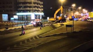 Dubai road construction