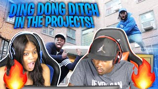 KAI CENAT EXTREME DING DONG DITCH IN THE PROJECTS!! *GONE WRONG* REACTION