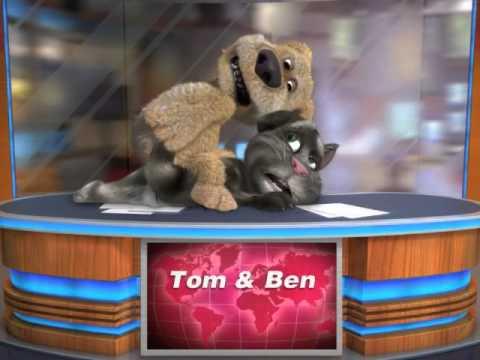 Talking Tom & Ben News norsk