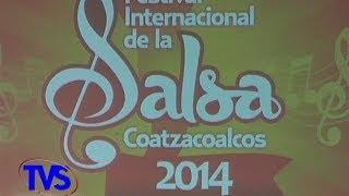TVS Noticias.- Presentan Cartelera del Festival Internacional de la Salsa 2014, Coatzacoalcos, Ver.