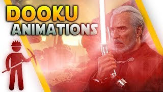 COUNT DOOKU DATAMINE: Animations, Abilities & Emotes - Battlefront 2