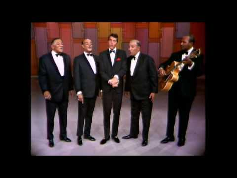 """Dean Martin & The Mills Brothers - """"Up A Lazy River"""" - LIVE"""