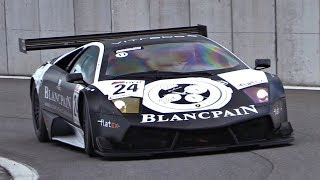 BEST Sounding Lambo EVER?! - Lamborghini Murcielago R-SV GT1 Eargasmic V12 Sounds + OnBoard!