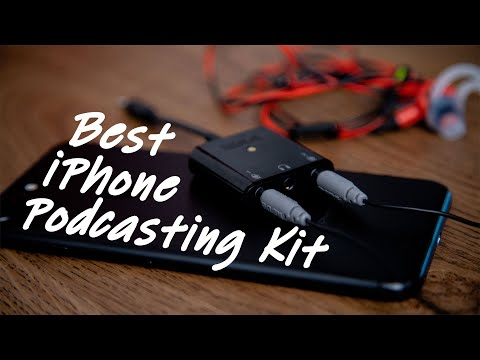 How To Podcast With An IPhone Or IPad (Best For Travel & Interviews) - Podcasting Gear