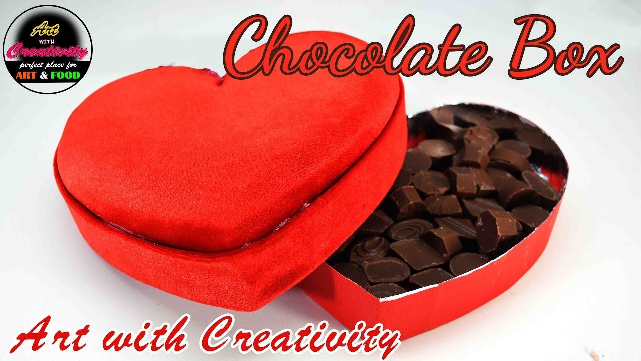 Chocolate Box Valentine S Day Special Art With Creativity 141