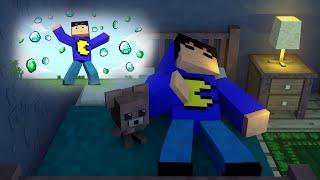 Minecraft: COMO É SONHAR NO MINECRAFT?! (Mapa)