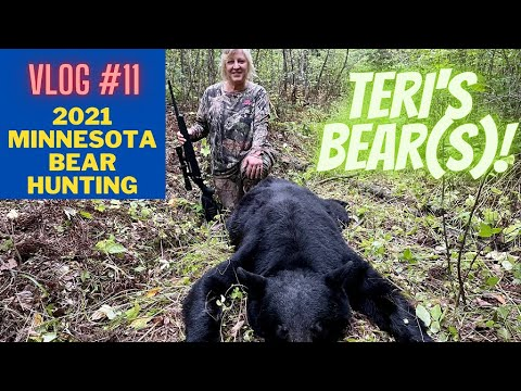Minnesota Bear Hunting VLOG#11 | Teri's hunt