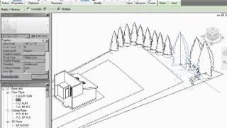 Video de infiniteskills tutorial revit architecture adding trees and